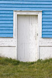 Weiße Tür Lizenzfreie Stockbilder