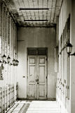 Weiße Türen Lizenzfreies Stockfoto