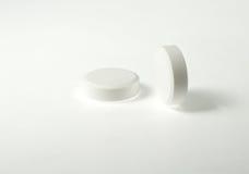 Weiße Tabletten Stockbilder