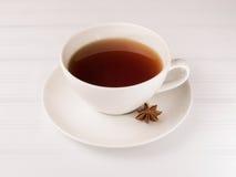 Weiße Tasse Tee Stockfotos
