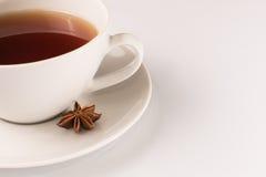 Weiße Tasse Tee Lizenzfreie Stockfotos