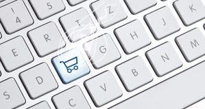 Tastatur mit einer Kaufwahl Lizenzfreie Stockbilder