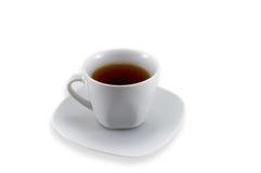 Weiße Teeschale lizenzfreies stockbild