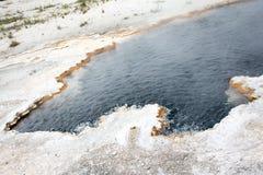 Weiße Ufer des Schwefels Lizenzfreie Stockfotografie