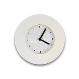 Weiße Uhr Lizenzfreies Stockfoto