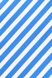 Weiße und blaue gestreifte Gewebebeschaffenheit Stockbilder