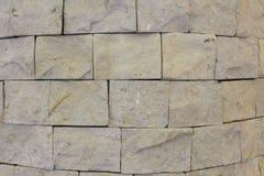 Weiße und graue Backsteinmauer Lizenzfreie Stockfotos