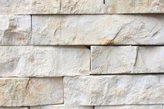 Weiße und graue Backsteinmauer Lizenzfreies Stockbild