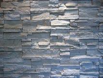 Weiße und graue Steinwand Stockfoto