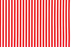 Weiße und rote gestreifte Hintergrundoberfläche stockfotografie
