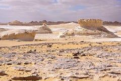 Weiße Wüste, Ägypten Lizenzfreies Stockfoto