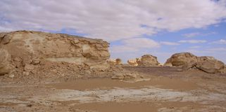 Weiße Wüste, Ägypten Lizenzfreies Stockbild