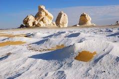Weiße Wüste, Ägypten stockfoto