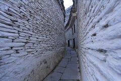 Weiße Wand Stockfoto