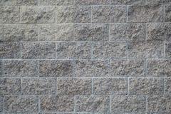 Weiße Wand-Beschaffenheit granulierter Block-Bau Lizenzfreies Stockbild