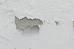 Weiße Wand mit Sprüngen Lizenzfreies Stockbild