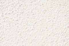 Weiße Wandfassadebeschaffenheit Lizenzfreie Stockfotos