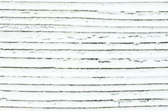 Weiße Wandschindeln der Hintergrundbeschaffenheit lizenzfreie stockbilder