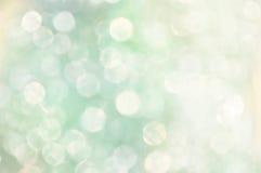 Weiße weiche abstrakte bokeh Lichter Stockfotografie