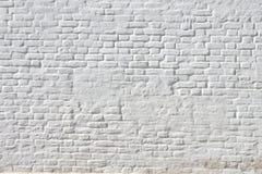 Weiße Weinlese-Backsteinmauer Lizenzfreies Stockfoto