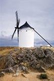 Weiße Windmühle Lizenzfreie Stockbilder