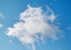 Weiße Wolke Lizenzfreie Stockfotografie