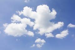 Weiße Wolke Stockfotografie