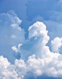 Weiße Wolken Stockbild