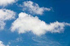 Weiße Wolken Lizenzfreie Stockbilder