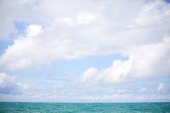 Weiße Wolken Stockfotografie