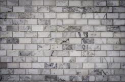 Weiße Ziegelsteinwand, Hintergrund Lizenzfreie Stockfotografie