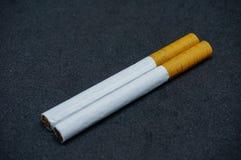 Weiße Zigaretten Lizenzfreies Stockfoto