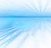 Weißer abstrakter Hintergrund mit Fractalbeschaffenheit Blaues Wasser horiz Stockfoto