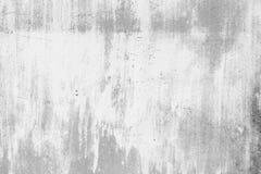 Weißer alter Wandschmutzhintergrund Stockfoto