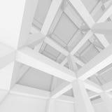 Weißer Architektur-Hintergrund Stockfotos