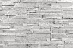 Weißer Backsteinmauerhintergrund Stockbild