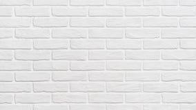 Weißer Backsteinmauerhintergrund herauf Effekt stock footage