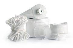 Weißer Badekurort und Hygiene lizenzfreie stockfotos
