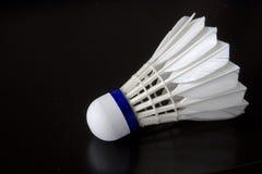 Weißer Badminton-Vogel Stockfotos