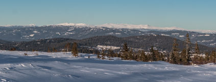 Weißer Berg Stockbild