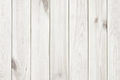 Weißer Beschaffenheitshintergrund der hölzernen Planke Stockbilder