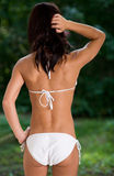 Weißer Bikini Lizenzfreies Stockbild