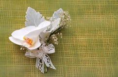 Weißer Blumenstrauß Lizenzfreie Stockbilder