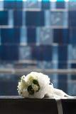 Weißer Blumenstrauß Stockfoto