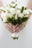Weißer Blumenstrauß Lizenzfreies Stockbild
