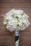 Weißer Brautblumenstrauß Lizenzfreie Stockbilder