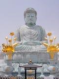 Weißer Buddha Lizenzfreie Stockbilder