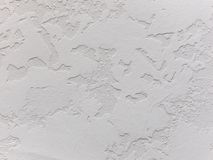 Weißer dekorativer Gips Beschaffenheit Kann als Postkarte verwendet werden lizenzfreies stockbild