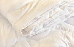 Weißer Duvet stockbild