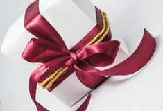 Weißer Geschenkkasten Lizenzfreie Stockbilder